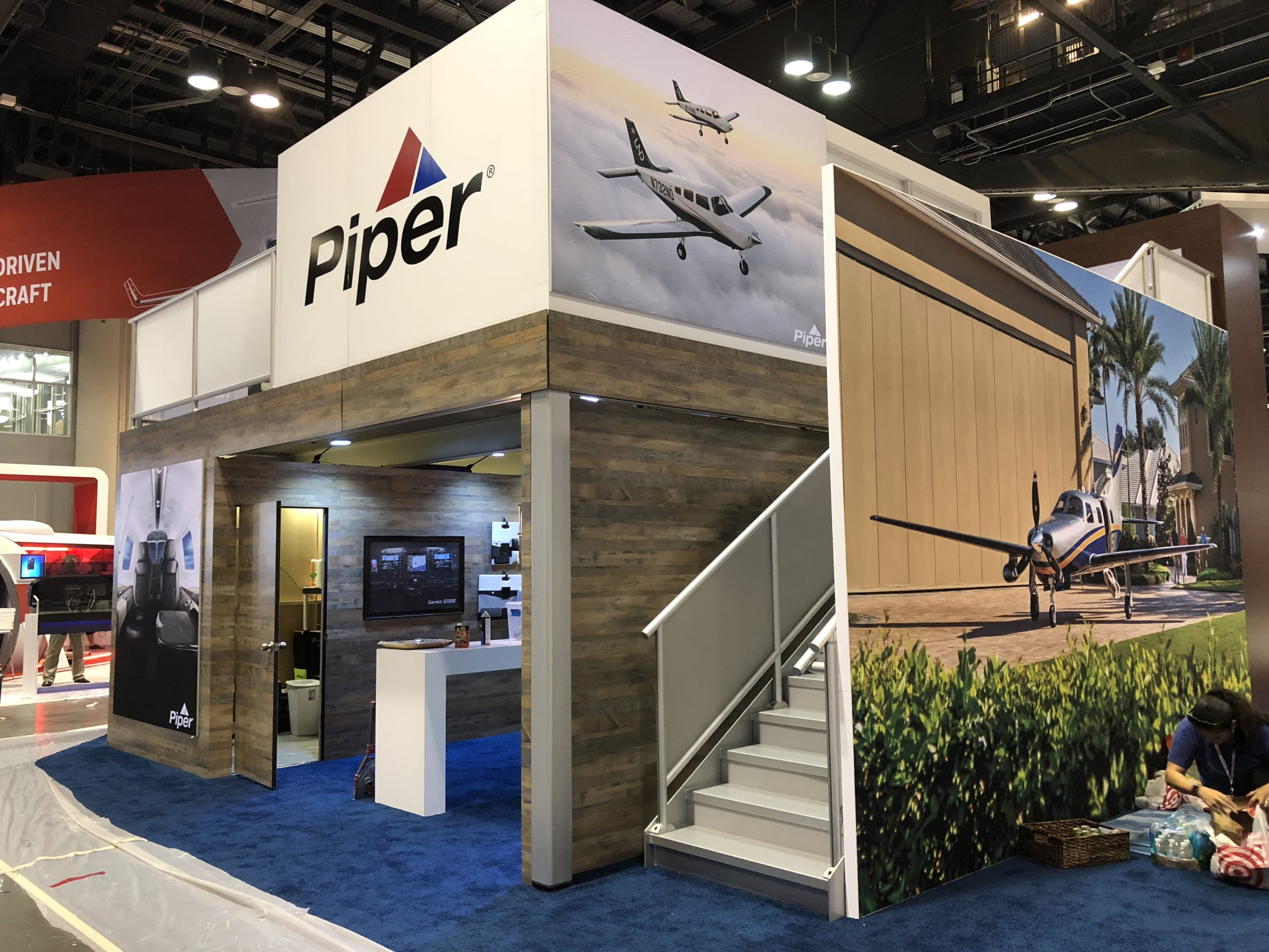 Piper Trade Show Exhibit Front